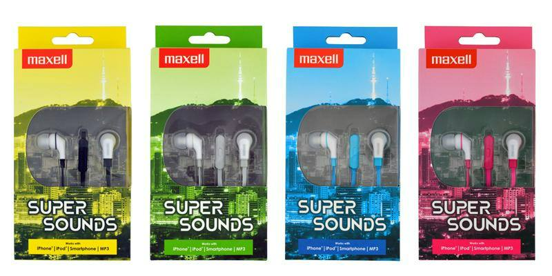 Maxell SuperSounds feket f 6591684392